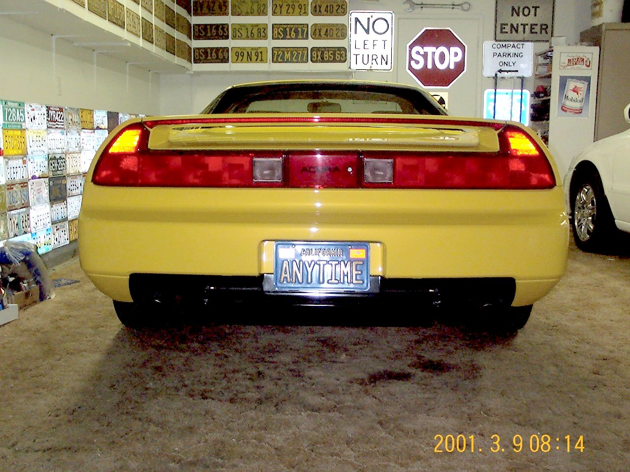 Interesting NSX Personalized License Plates